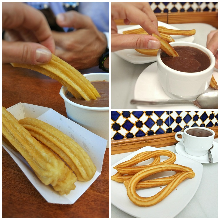 churros hot chocolate
